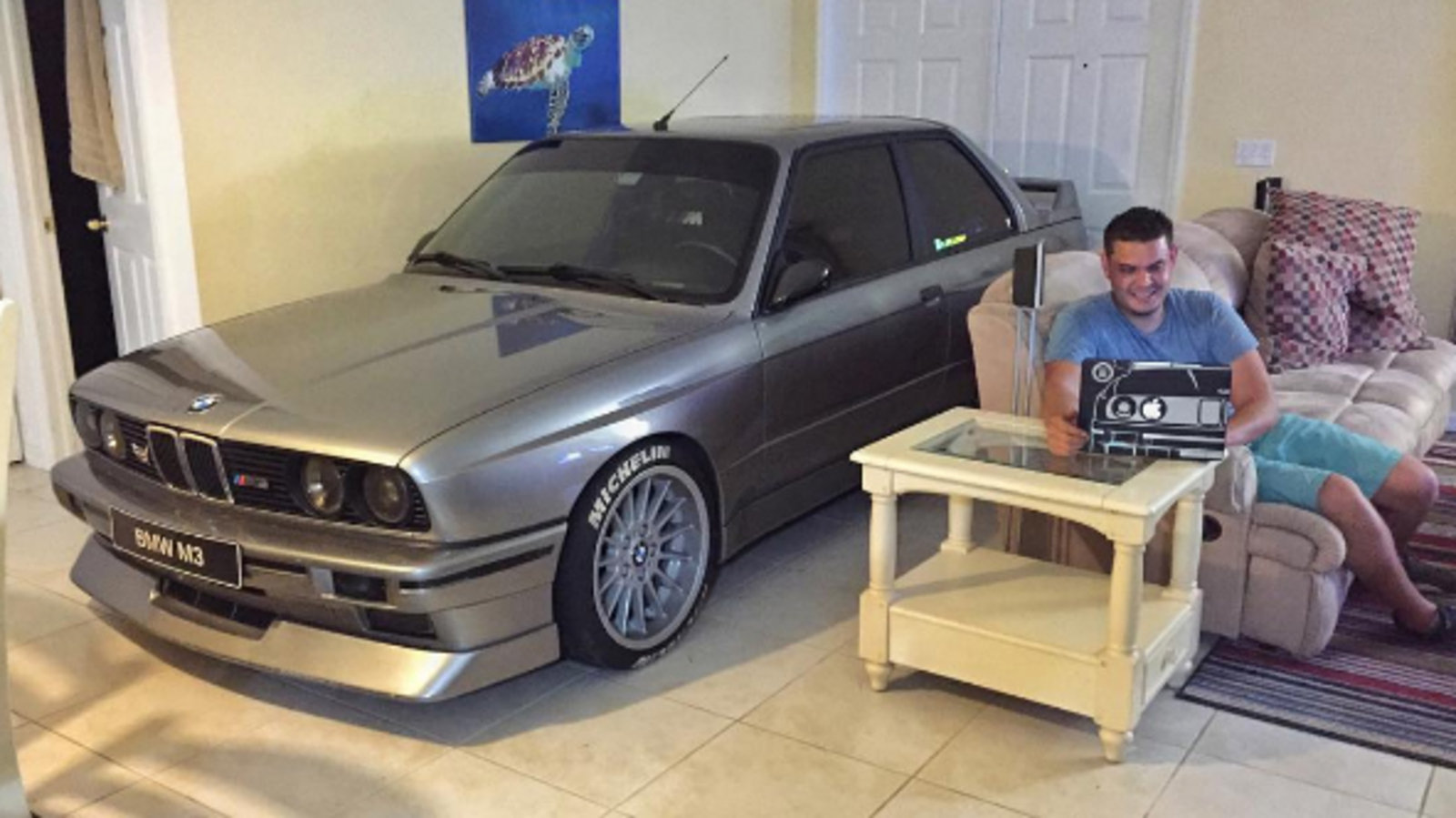 Bmw M3 Reviews Specs Prices Photos And Videos Top Speed Little Nightmare Reg 3 Man Parks His E30 In Living Room To Protect It From Hurricane Matthew
