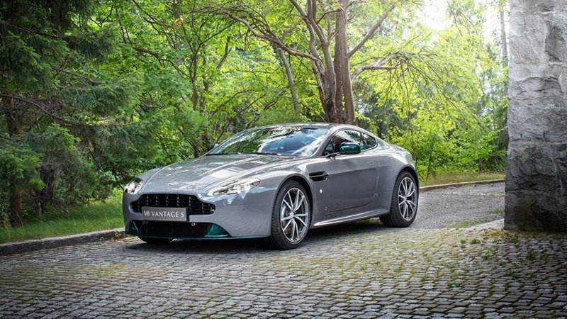 2016 Q By Aston Martin V8 Vantage S Swedish Forest Edition