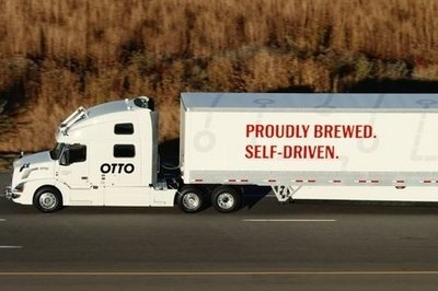 Self-Driving Semi-Truck Takes 120 Miles Trip, Delivers Beer