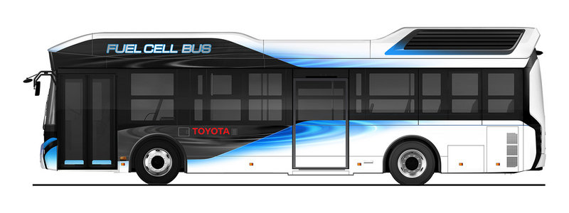 Toyota to Sell Fuel Cell-Powered Bus in 2017