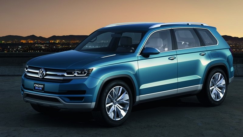 "VW's New Midsize Crossover to be Called ""Atlas"" in the U.S. Market"
