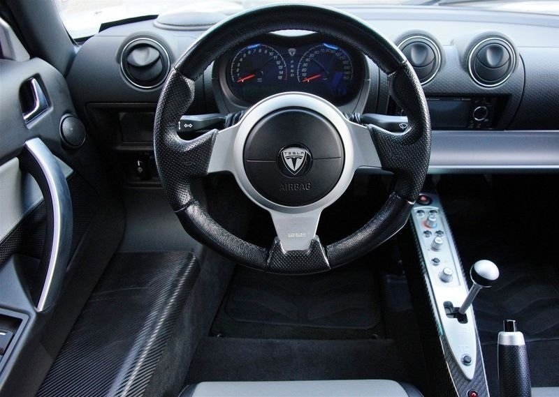 This Tesla Roadster Prototype Could Be Yours For $1 Million High Resolution Interior - image 691724