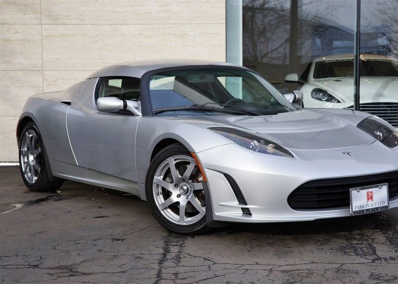 This Tesla Roadster Prototype Could Be Yours For $1 Million