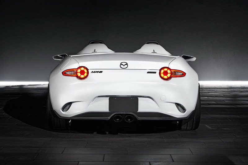 2016 Mazda MX-5 Speedster Evolution