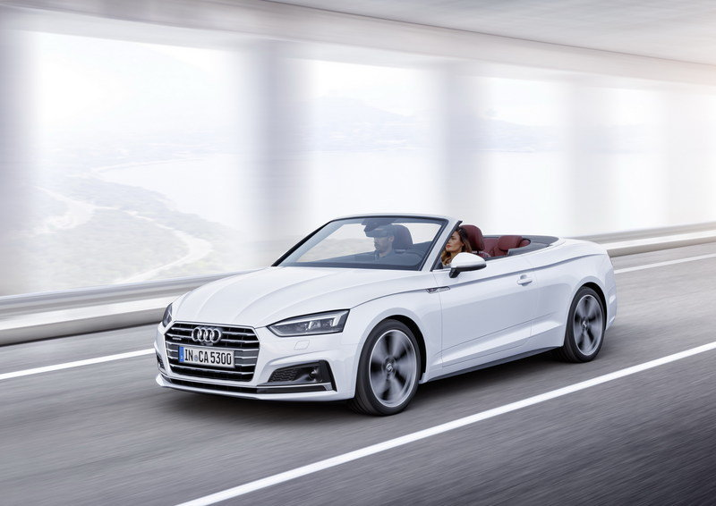 2017 Audi A5 Convertible | Top Speed