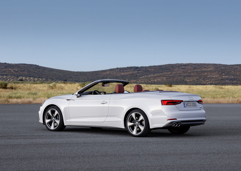 2017 Audi A5 Convertible High Resolution Exterior - image 694385