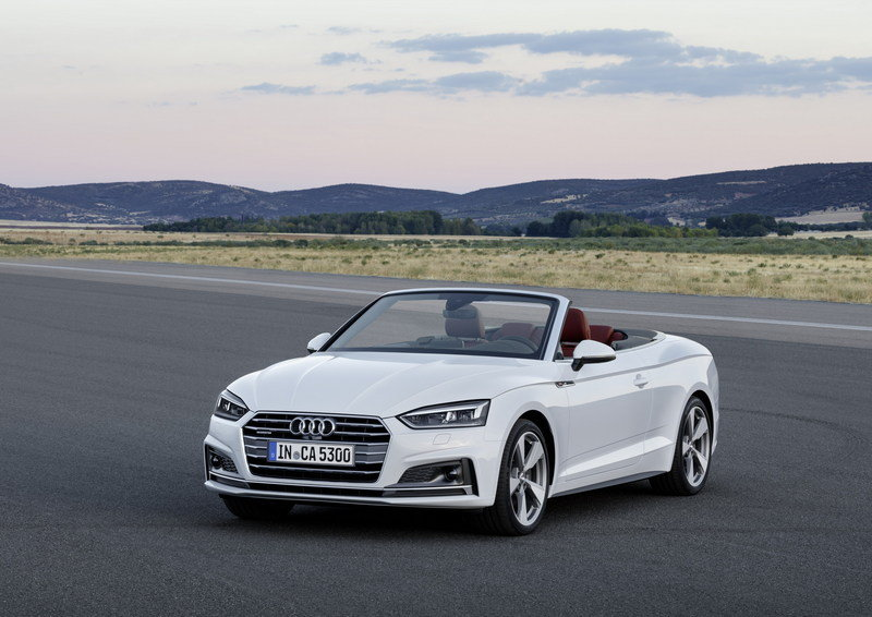 2017 Audi A5 Convertible High Resolution Exterior - image 694386