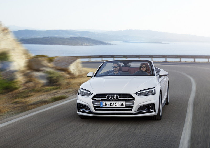 2017 Audi A5 Convertible High Resolution Exterior - image 694379