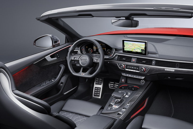 2017 Audi S5 Cabriolet High Resolution Interior - image 694414