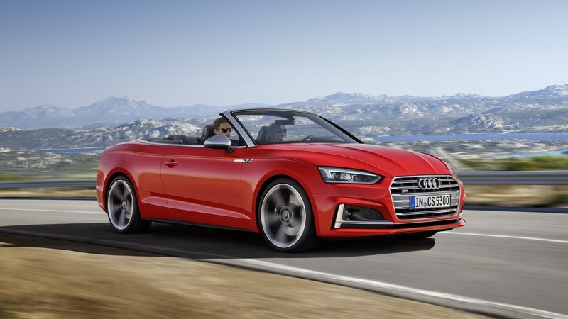 2017 Audi S5 Cabriolet High Resolution Exterior - image 694590