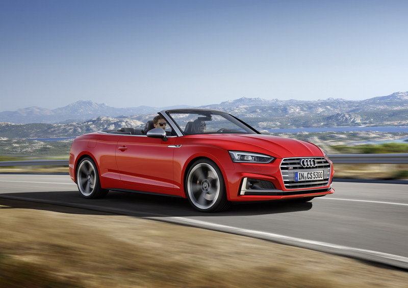 2017 Audi S5 Cabriolet High Resolution Exterior - image 694401