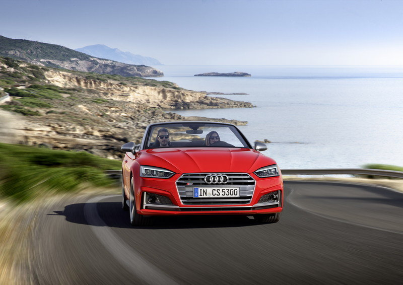 2017 Audi S5 Cabriolet High Resolution Exterior - image 694402