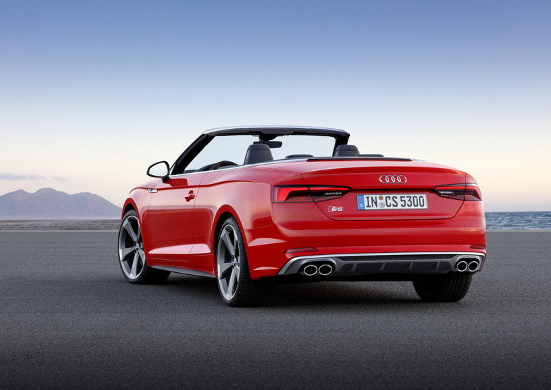 2017 Audi S5 Cabriolet High Resolution Exterior - image 694404