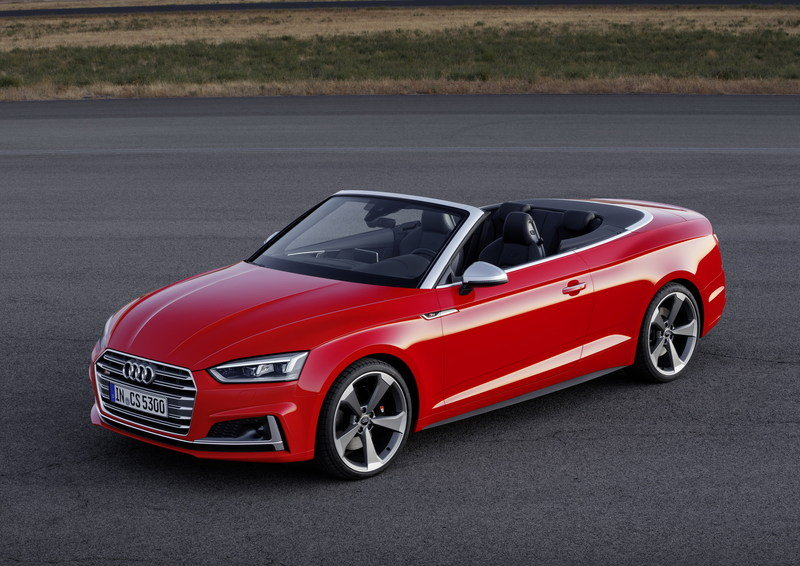 2017 Audi S5 Cabriolet High Resolution Exterior - image 694407