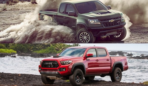 2017 colorado zr2 vs 2017 toyota tacoma trd pro car news top speed. Black Bedroom Furniture Sets. Home Design Ideas