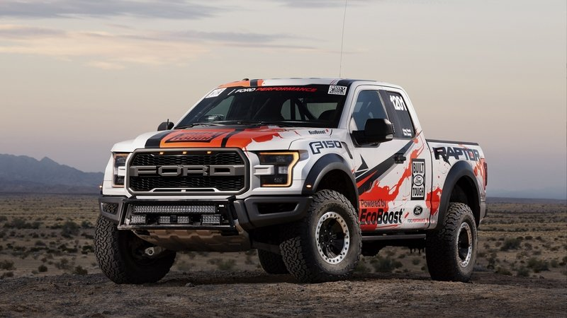 2017 Ford F-150 Raptor Placed Third At Baja 1000 In Stock Full Class Competition
