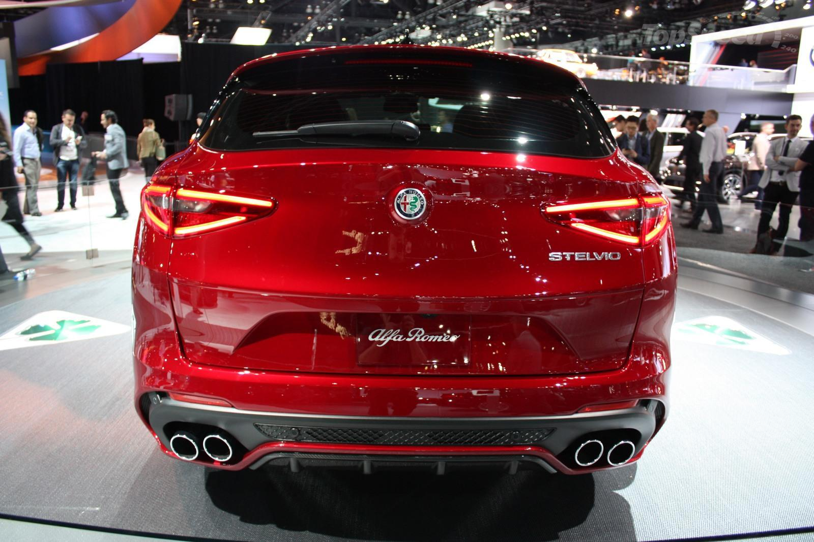 Simple 2018 Alfa Romeo Stelvio Quadrifoglio  Picture 696135  Car Review