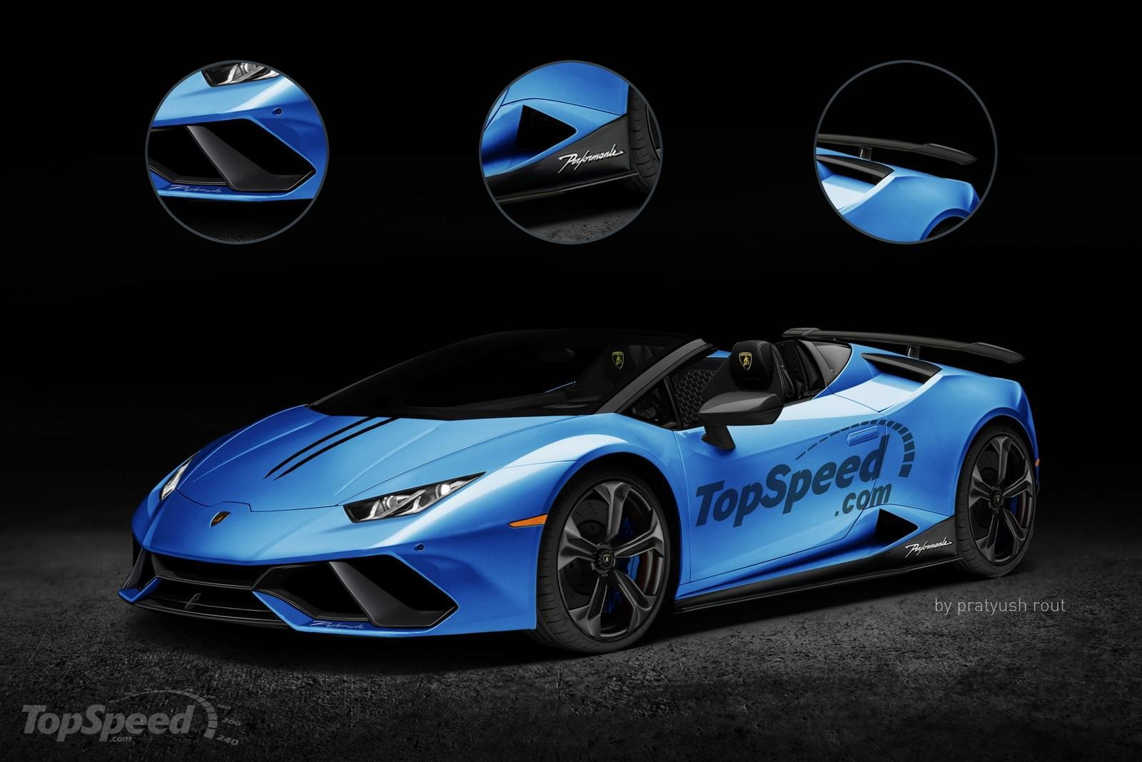2018 lamborghini huracan performante spyder picture 697074 car review t. Black Bedroom Furniture Sets. Home Design Ideas