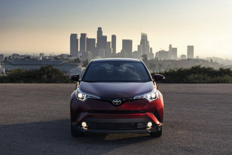 2018 Toyota C-HR Makes World Debut at the 2016 Los Angeles Auto Show