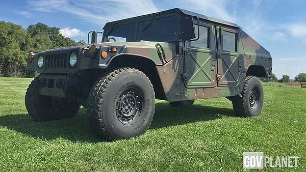Government Surplus Cars: Military Vehicle @ Top Speed