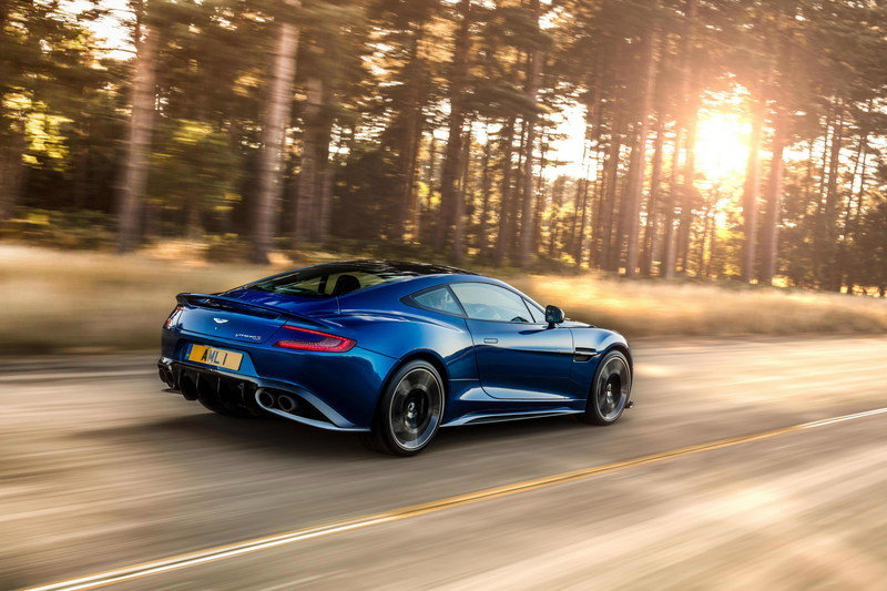The Aston Martin Vanquish Isn't Dead - It'll be Re-imagined as a Mid-Engined Ferrari and McLaren Fighter High Resolution Exterior - image 695575