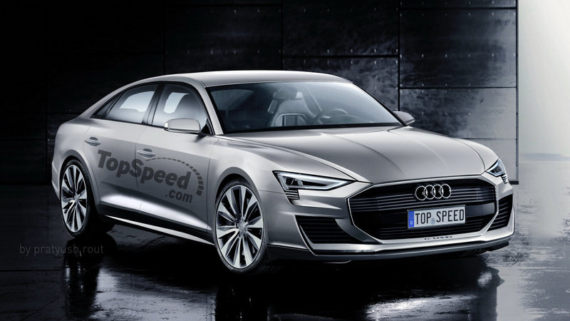Audi A9 News And Reviews Top Speed
