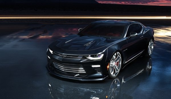 2016 Chevrolet Camaro SS Slammer Concept Review - Top Speed
