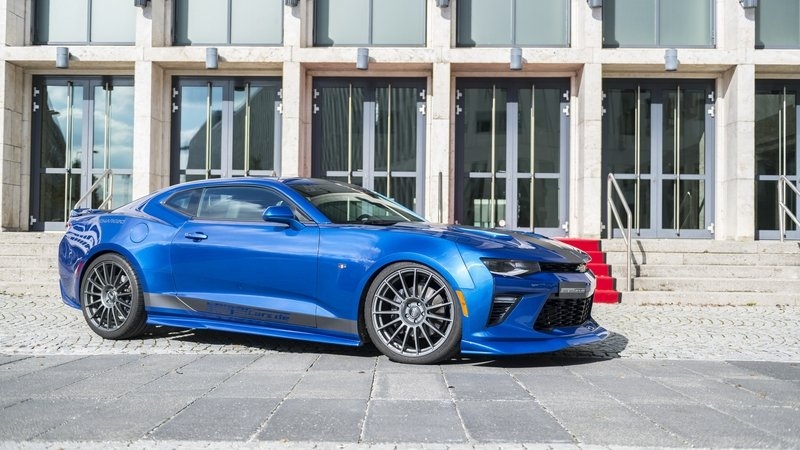 2016 Chevrolet Camaro Supercharged 630 by Geiger Cars