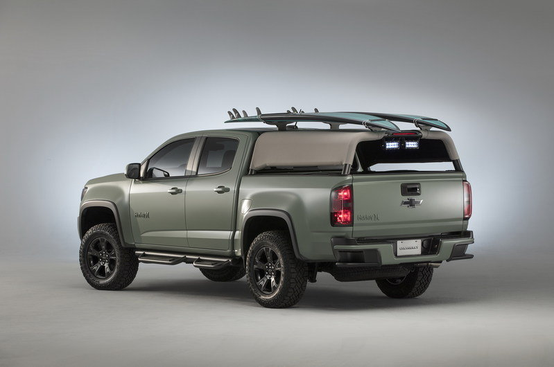 2016 Chevrolet Colorado Z71 Hurley Concept High Resolution Exterior - image 693802