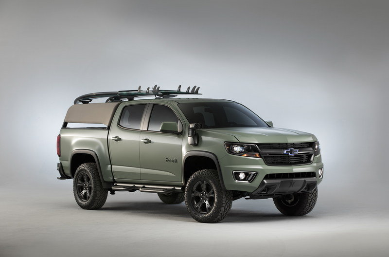 2016 Chevrolet Colorado Z71 Hurley Concept High Resolution Exterior - image 693803