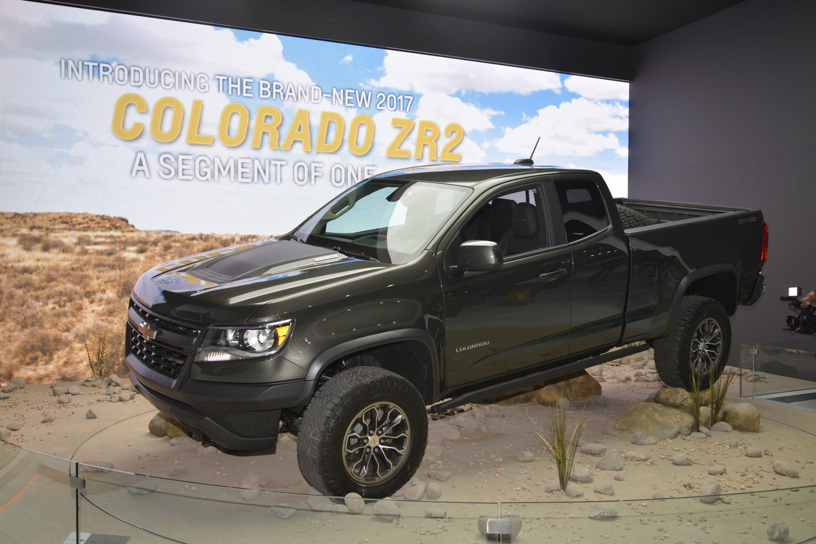 New 2017 Chevrolet Colorado ZR2  Picture 696478  Truck Review  Top