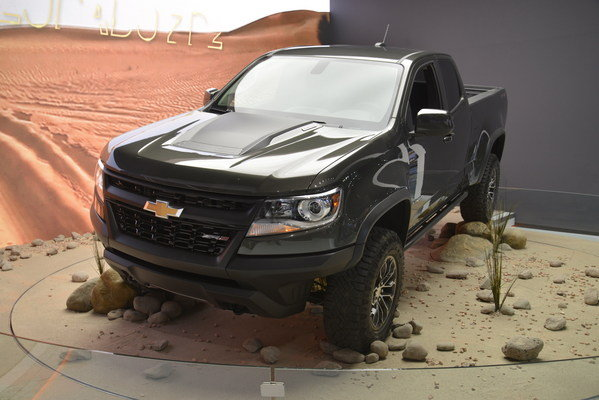 2017 chevrolet colorado zr2 truck review top speed