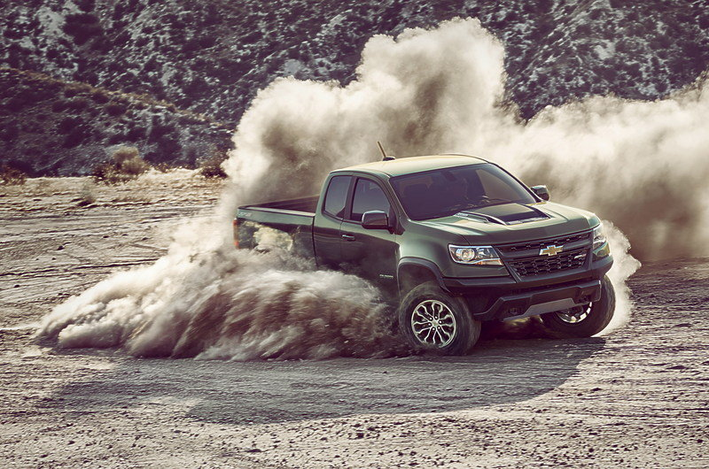 Chevy Colorado ZR2 Takes L.A. By Storm with Supercar Suspension High Resolution Exterior - image 695641