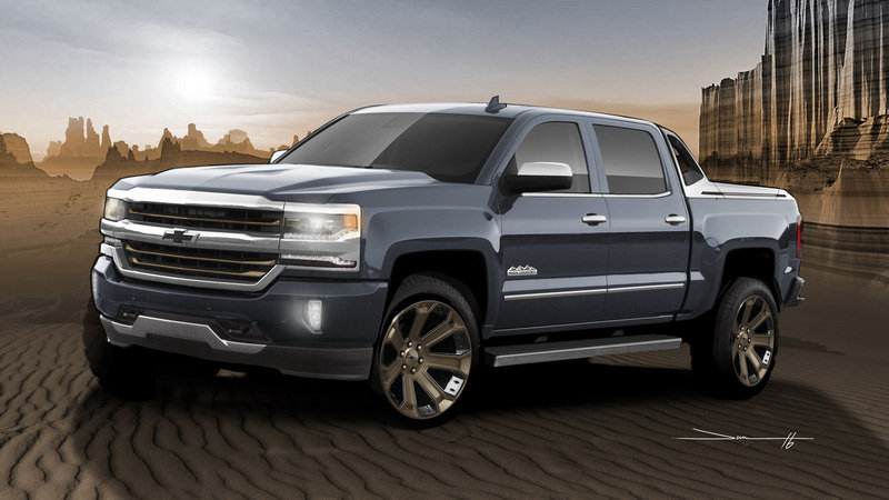 2016 Chevrolet Silverado 1500 High Desert