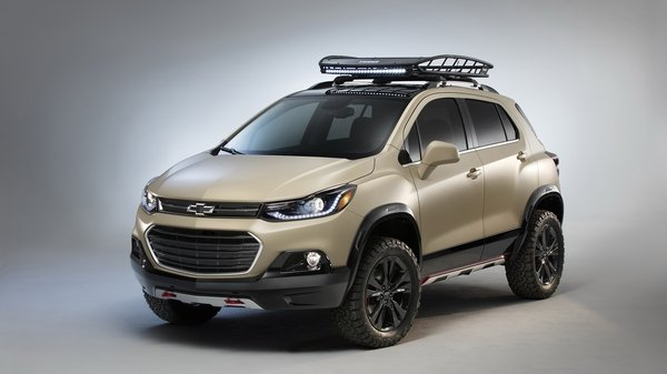 2016 Chevrolet Trax Activ Concept Review - Top Speed