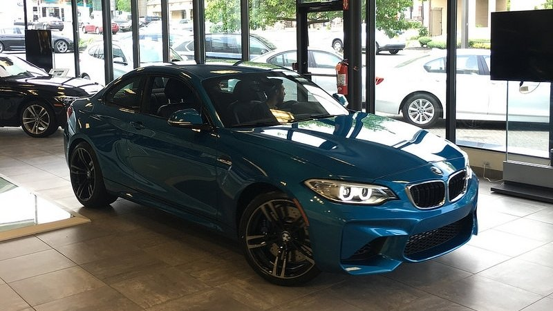 Detailers Domain Takes Delivery of Stock M2 and Quickly Makes it One of a Kind