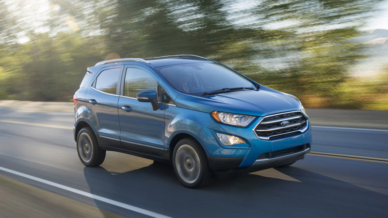 2018 Ford EcoSport High Resolution Exterior - image 695486