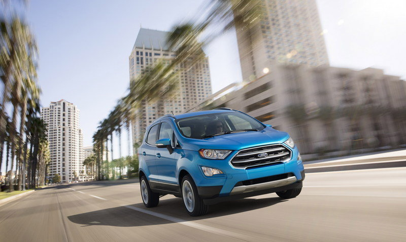 The Ford EcoSport is Finally Rolling into U.S. Dealers