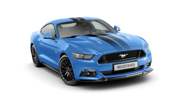 ford mustang blue edition - DOC697342