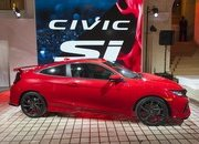 Honda Brings Civic Si Prototype to Los Angeles, Confirms 2017 Launch - image 695737