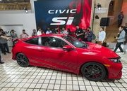 Honda Brings Civic Si Prototype to Los Angeles, Confirms 2017 Launch - image 695739