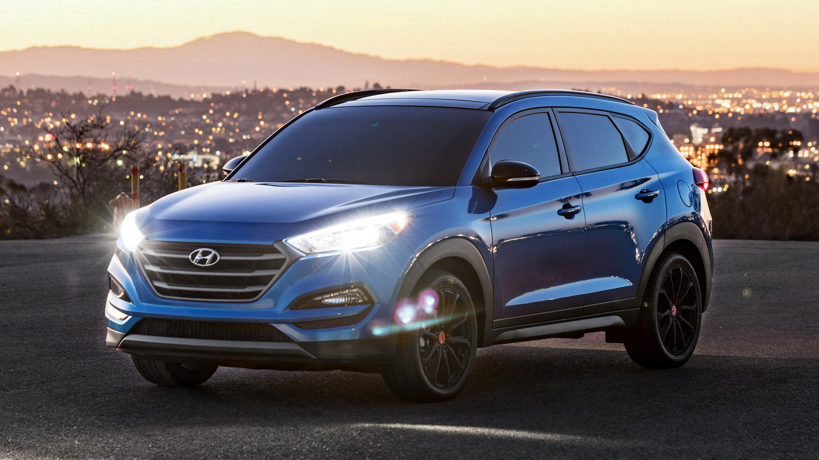 2016 hyundai tucson night review top speed. Black Bedroom Furniture Sets. Home Design Ideas