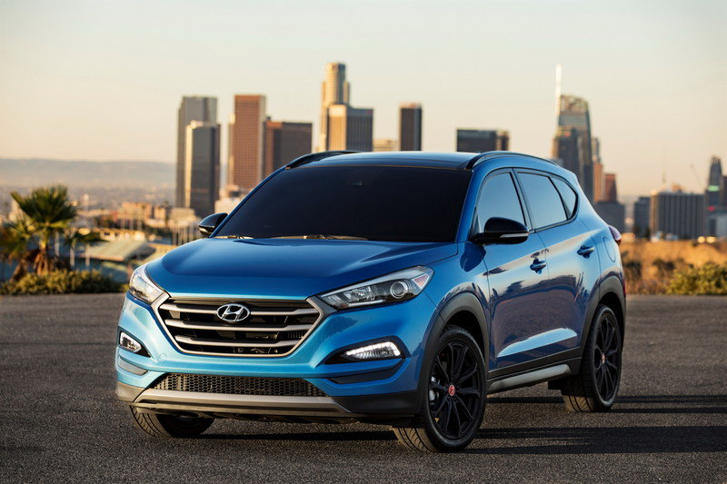 2016 Hyundai Tucson Night High Resolution Exterior - image 693962