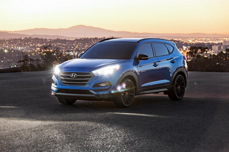 2016 Hyundai Tucson Night High Resolution Exterior - image 693960