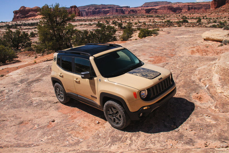 2017 Jeep Renegade Deserthawk High Resolution Exterior - image 694853