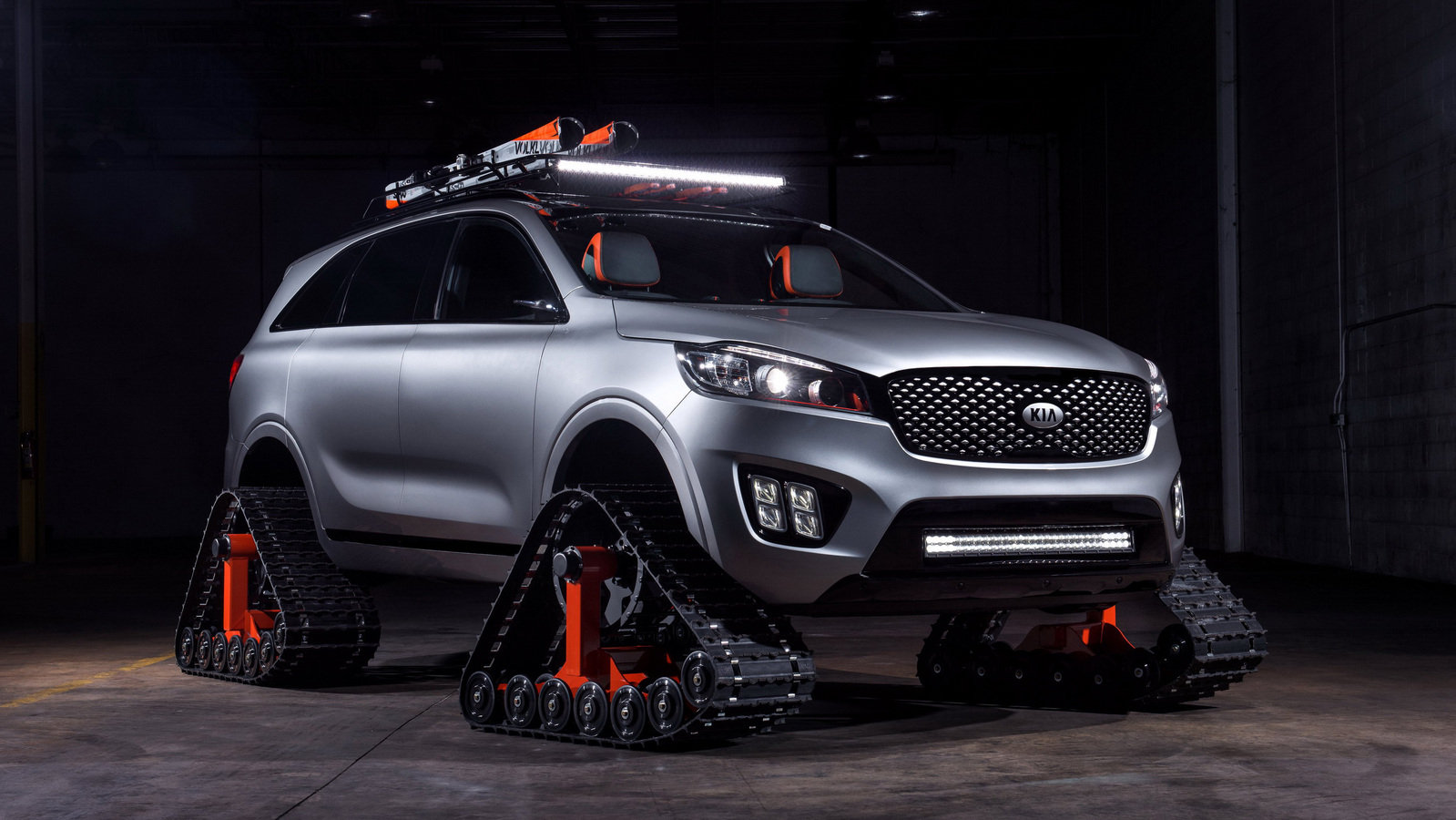 2016 Kia Sorento Ski Gondola Top Speed