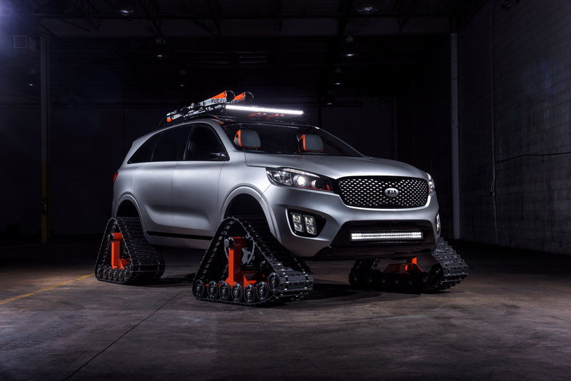2016 Kia Sorento Ski Gondola High Resolution Exterior - image 693952