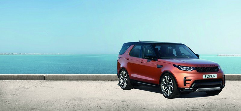 2017 Land Rover Discovery Dynamic Design Pack