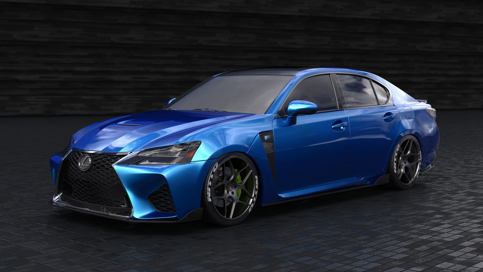 2016 lexus gs f by clark ishihara review top speed. Black Bedroom Furniture Sets. Home Design Ideas