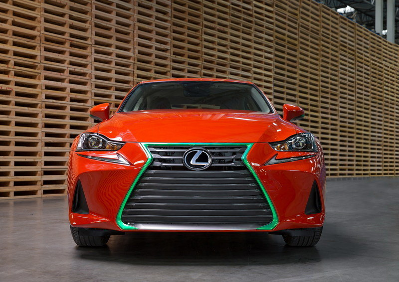 Lexus Gets Spicy With The Sriracha IS In Los Angeles High Resolution Exterior - image 695724